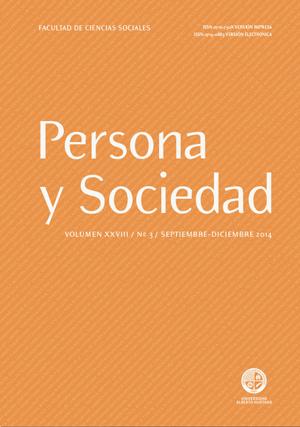 Persona y Sociedad Vol.28 n.3 Septiembre Diciembre 2014