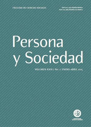 Persona y Sociedad Vol.29 n.1 Enero Abril 2015