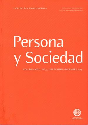 Persona y Sociedad Vol.29 n.3 Septiembre Diciembre 2015