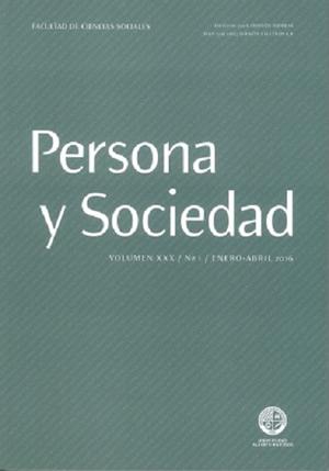 Persona y Sociedad Vol.31 n.2 Julio Diciembre 2017