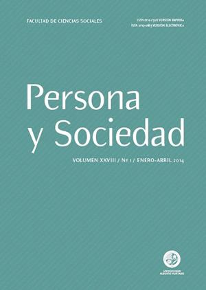 Persona y Sociedad Vol.28 n.1 Enero Abril 2014