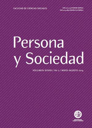 Persona y Sociedad Vol.28 n.2 Mayo Agosto 2014